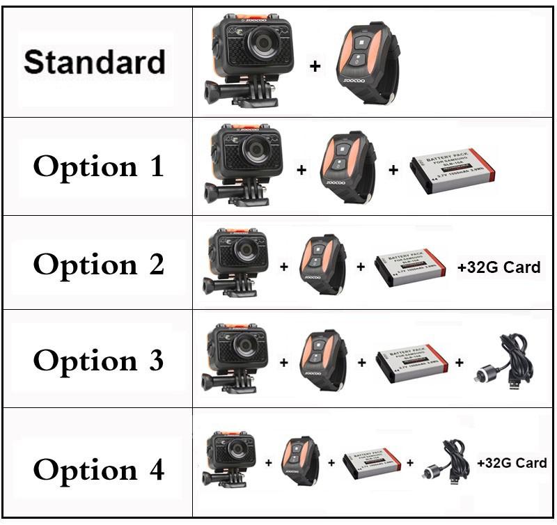 Original SOOCOO S60 1080P Sports Action Video Camera Waterproof 60m WiFi  GoPro