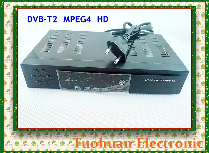 2014 Newest HD DVB-T2 terrestrial digital television receiver Compatible with DVB T DVB T2 w/ HDMI+USB+RCA for Russia/Colombia(China (Mainland))