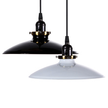 Buy Black/White Iron Vintage pendant lamp Retro Industrial DIY Pendant Lamp Ceiling Lamp Edison Light Fixture Lamp for $21.69 in AliExpress store