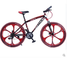 2016 high quality carbon steel material 21 speed 24 inch wheelmountain bike(China (Mainland))
