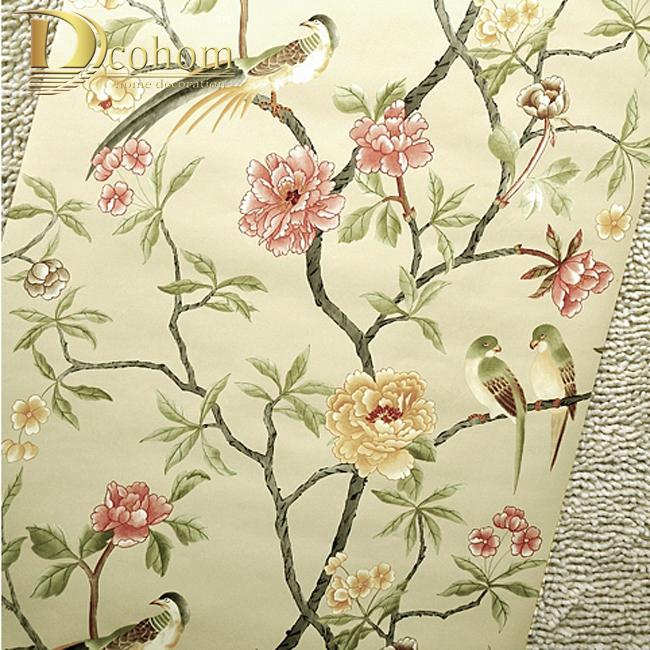 Achetez en gros arbre papier 3d en ligne des grossistes for Oriental style wallpaper uk