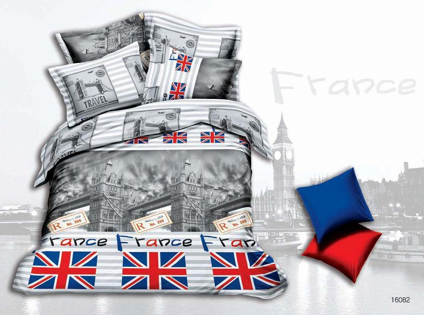 Black and white design, the British flag style Bedding sets 3D Bedclothes Duvet cover sets queen size Bed linen bed sheet sets(China (Mainland))