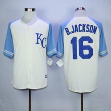 Mens Stitched Bo Jackson Throwback Jerseys Good quality(China (Mainland))