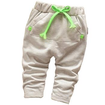 New 2015 Baby Boy Cotton Pants High Quality Boy Newborn Pants Spring Kids Boy Casual Pants Brand Boy Pants 10-24 month