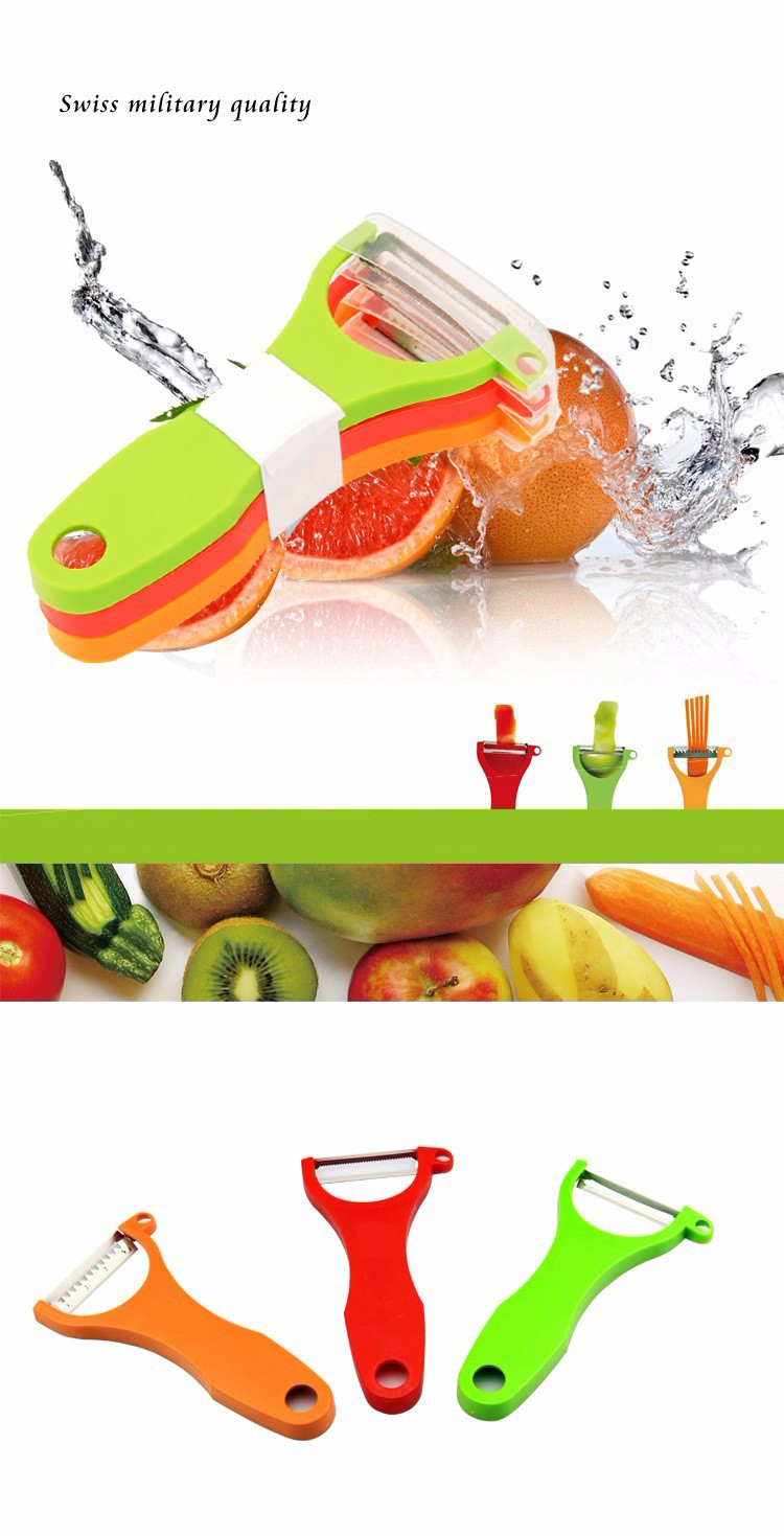 Grater Peeler Slicer 3 in 1 Apple Potato