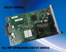 Free shipping 100% tested formatter board for HP CP5525DN (CE707-69001 CE707-69002 ) mainboard on sale