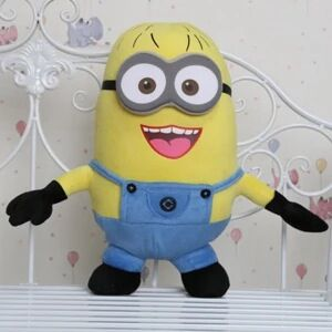 minion despicable me 2 Plush Dolls Gifts For Kids Brinquedos Jorge Stewart Dave Minions plush Doll with tags Free Shipping(China (Mainland))