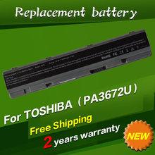 PA3672U-1BRS PA3672 laptop battery For Toshiba Satellite E100 E105 E105-S1402 E105-S1602 E105-S1802 14.8V 4400MAH
