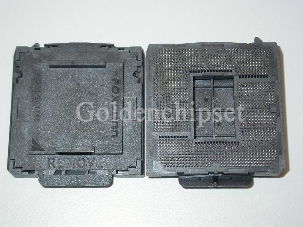 Original New H2 Socket LGA1155 CPU Base PC Connector 1155pin BGA Base(China (Mainland))