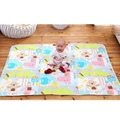 New Arrival 75x120cm Urine Mat Cartoon Design Waterproof Baby Infant Bedding Changing Pad Portable Travel Nappy