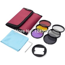52 mm filtro Set ( UV CPL ND4 filtro de Color ) + Adapter + bolsa para Gopro Hero 3 + LF362-SZ(China (Mainland))