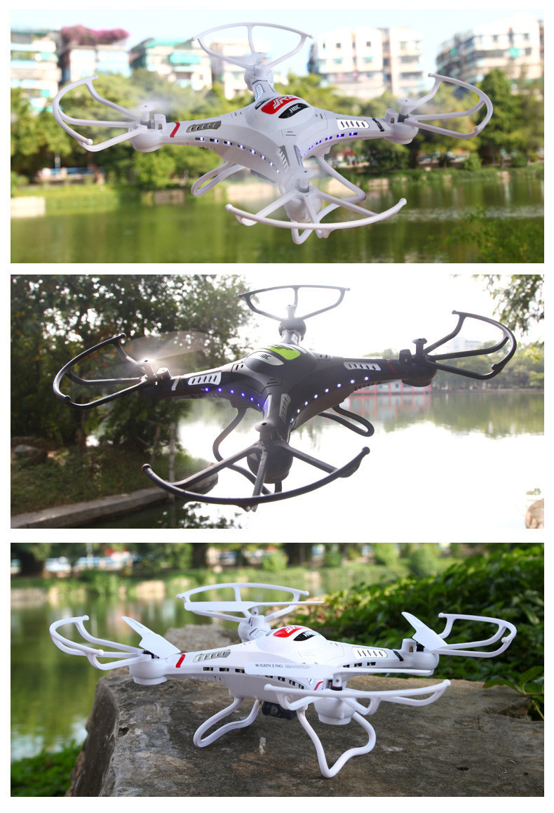 JJRC H8C Rc Drone With 2MP HD Camera Flying Camera 4CH 2 mode Helicopter Radio Remote Control Quadcopter Drone Toys