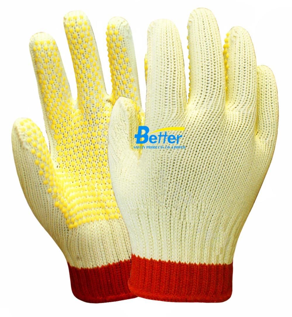 Здесь продается  7 Guage Aramid Fiber Working Gloves PVC Dots Anti Slip Cut Resistant Work Gloves  Безопасность и защита