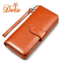 Women wallets famous brand leather purse wallet designer high quality long zipper money clip Large capacity dollar price cion(China (Mainland))