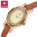 Lady Women s Watch Shell Japan Quartz Hours Fashion Dress Retro Bracelet Band Leather School Girl