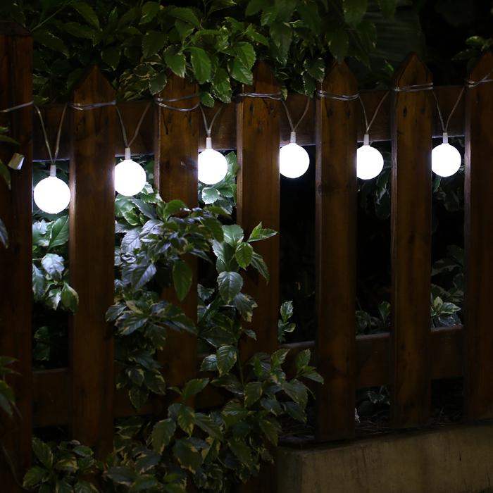 Фотография Solar string lights led outdoor decorative waterproof home garden landscape solar