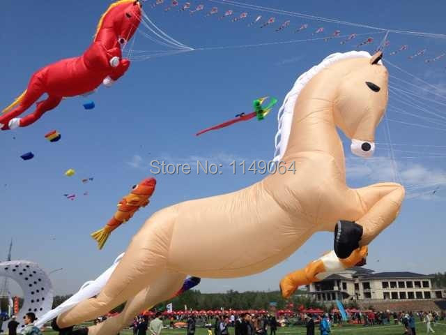 kite festival display many different large kite dual line stunt kite 23m octopus kites hcxkite factory interested sword(China (Mainland))