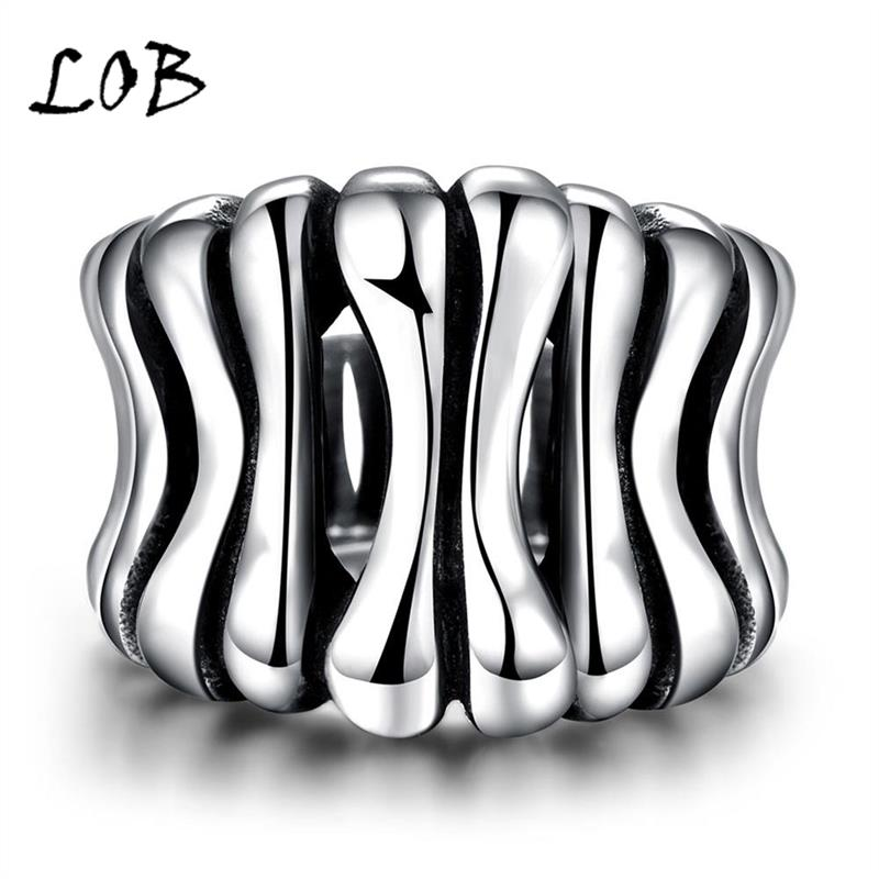 Men Jewelry 316L Stainless Steel Rings Men's Punk Vintage Party Ring Jewelry For Man Wholesale R229(China (Mainland))