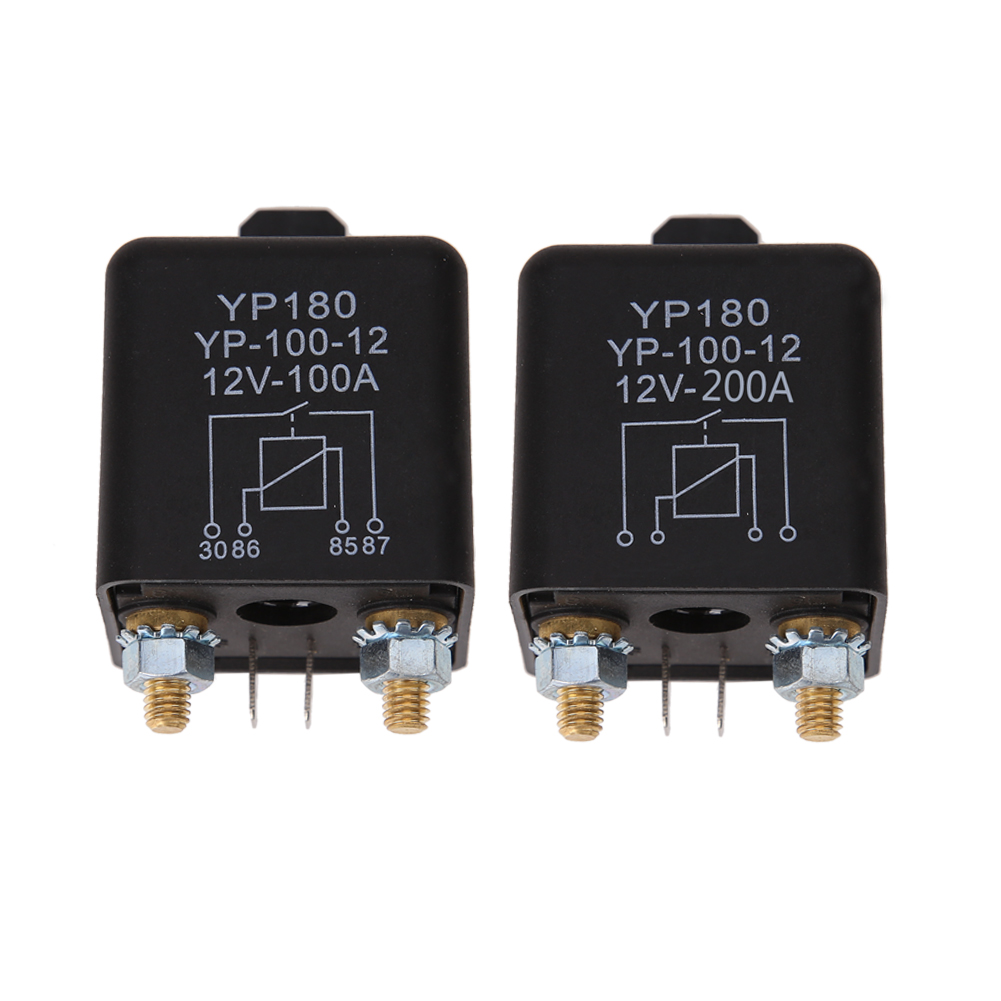 Car Truck Motor Automotive high current relay 24V 200A 2.4W Continuous type Automotive relay car relays(China (Mainland))