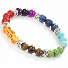 2016 Lucky Charms Bracelets & Bangles Lava Stone Gift Yoga Jewelry Turkish Turquoise Buddha Tiger Eye Pulseras For Women(China (Mainland))