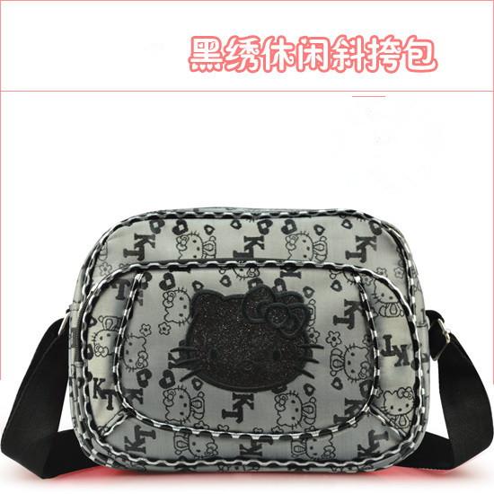 Cartoon Cute Hello Kitty E-friendly Messenger Bag Shoulder bag(China (Mainland))