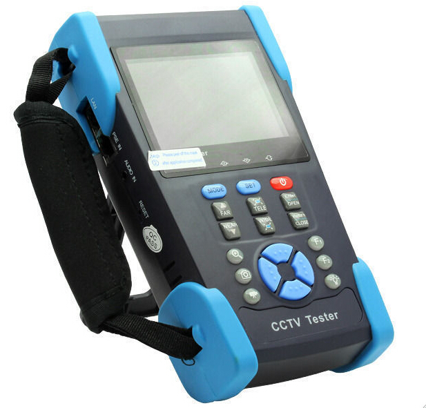 Free Shipping!! The newest 3.5 TFT-LCD CCTV tester HVT-2601 PTZ controller/Colorbar generator//UTP cable test /IP search