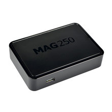 Best Linux IPTV box, Mag 250 ip tv set top box, Media player support Wifi usb connector / Cable Not include IPTV account, mag250