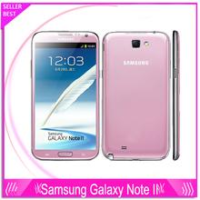 Original Samsung Galaxy Note II 2 N7100 Cell phone Quad Core 2GB RAM 16GB ROM Unlocked 3G NFC Unlocked Refurbished Mobile phone(China (Mainland))
