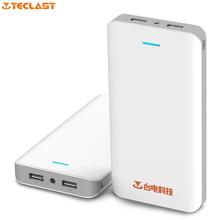 Оригинал Teclast T200N 20000 мАч СВЕТОДИОДНЫЕ Яркий Свет, Двумя Портами USB Большой Емкости Мобильный Банк Питания для iphone xiaomi HTC sony(China (Mainland))