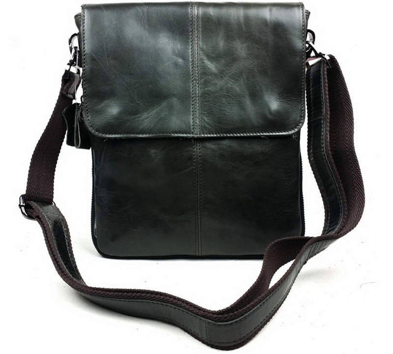 100% Genuine Leather men bags men Messenger bag crossbody Bag men's briefcase vintage shoulder coffer cowhide leather bags 2015(China (Mainland))