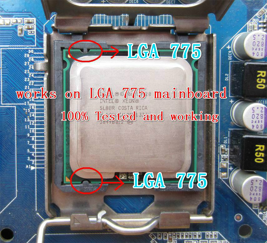 Intel Xeon L5408 Processor 2.13GHz/12M/1066Mhz equal to LGA775 Core 2 Quad Q9450 Q9300,works on LGA775 mainboard no need adapter(China (Mainland))