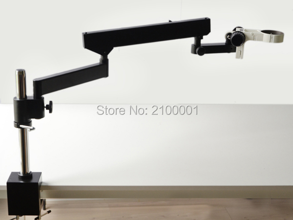 FREE SHIPPING ! ARTICULATING ARM PILLAR CLAMP STAND FOR STEREO MICROSCOPES+ A3(China (Mainland))