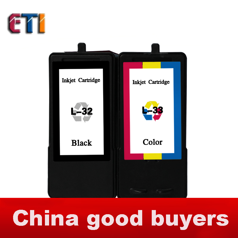 For  Lexmark 32 33 XL ink cartridge 18C0032 18C0033 (B + C) Combo Set, For More copier house X5250 X5470 X8350 Z816 P6210.<br><br>Aliexpress