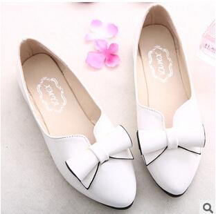 2015 spring women tip flat heels elegant ladies casual shoes DXGL = Q8601 - Linda's Fashion Store 99 store
