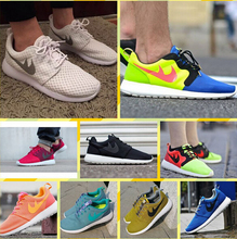 2015 New Style women&men Mesh Roshlis Run ONE BR Sky Running Shoes free shopping Colorful women men sneakers Shoes Size 36-45