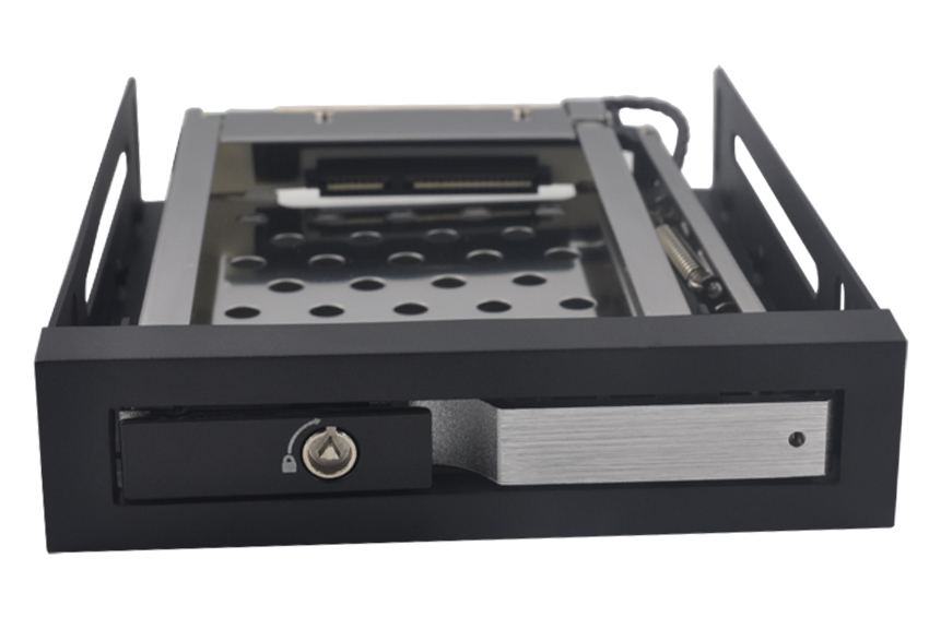 UNESTECH,2.5in single bay SATA HDD mobile rack with Aluminum alloy panel(China (Mainland))