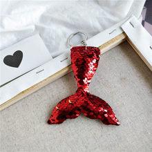 ใหม่น่ารัก Chaveiro หมีแมวสุนัขพวงกุญแจผู้หญิง Glitter Pompom Sequins สัตว์ Key Chain ของขวัญเด็ก Car Key(China)