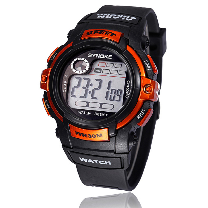 Multifunction Boy Men Digital LED Quartz Watches Male Alarm Date Sports Electronic Waterproof Military Wrist Watch