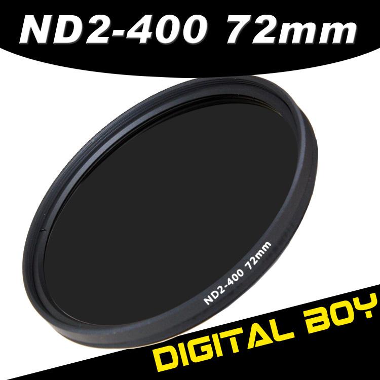Фильтр для фотокамеры Digital Boy 1 72 ND ND2 ND400 Canon 15/85 Nikon 18/200 72mm ND2-400 цифровой диктофон digital boy 8gb usb ur08