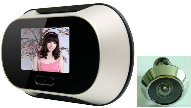 free shipping 2013 hot sale cheap Patented Digital Door Peephole Viewer door camera door eye viewer