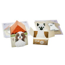 2x Cute 3D Dog House Post It Bookmark Pad Sticker Marker Memo Sticky Note Gift(China (Mainland))