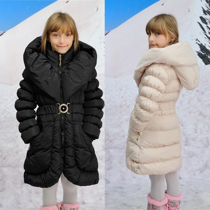 Гаджет  Minus 20 Degrees Children Outerwear Warm Coats Windproof Hooded Long Baby Girls Coats Child Down Jackets Kids Clothes For 7-16T None Детские товары