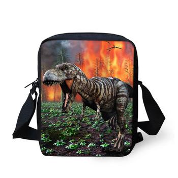 Модные прохладный животных мешок школы для студентов мальчики маленький динозавр ...