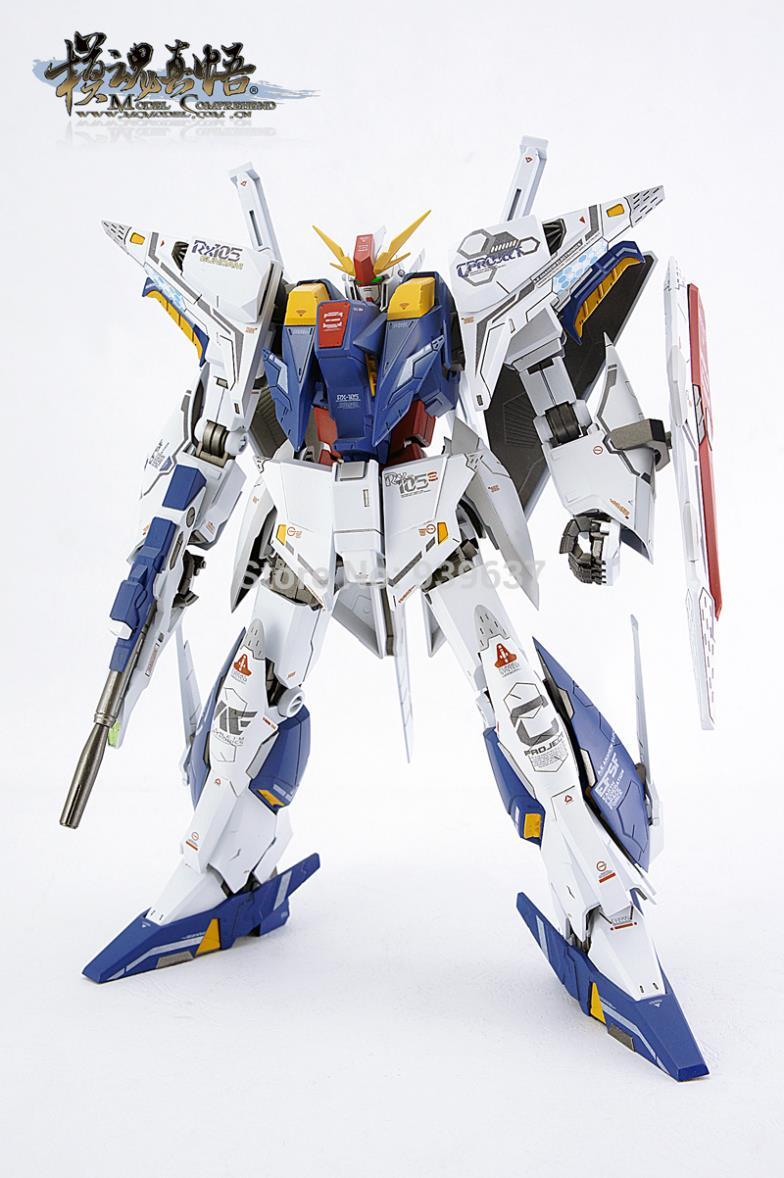 MC model HG 1/144 RX-105 Three Gundam Hathaway Cauchy Spot Assembled Models Quality toy gift