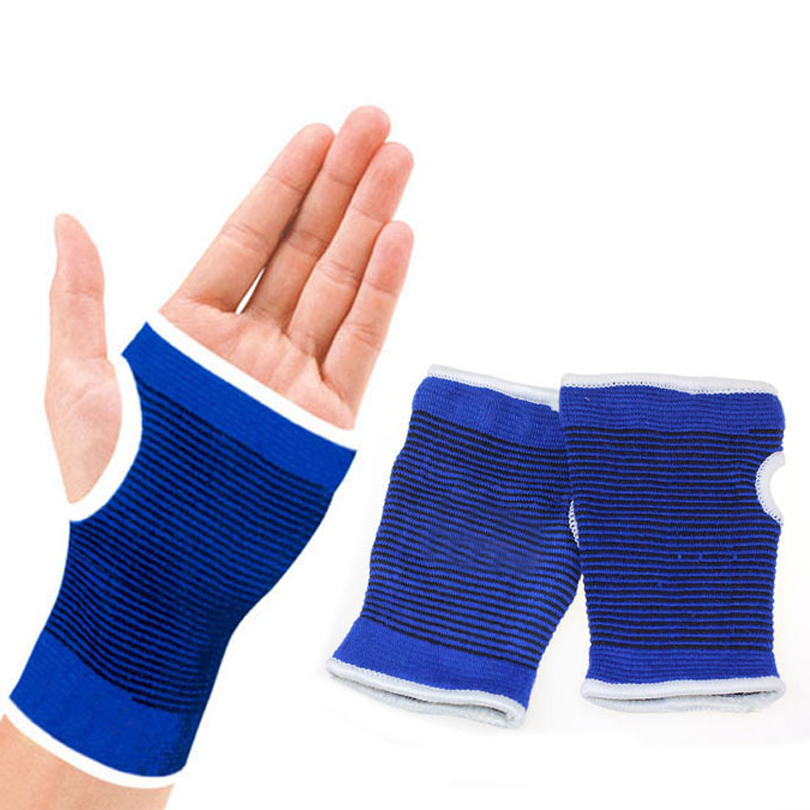 Support Wrist Gloves Hand Palm Gear Protector Elastic Brace Gym Sports Wrist Protector Gloves Protection Knee Brace(China (Mainland))