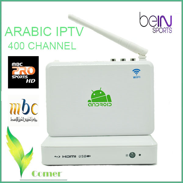arabic iptv box inclueds mbc and bein sports , arabic iptv see art channel for US  Sweden and AU etc