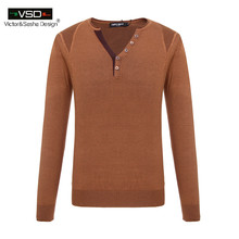 Men's sweaters 2016 winter new men Slim Solid Color mens sweaters and pullovers Men V Neck Casual Dress Brand maglione uomo VSD(China (Mainland))