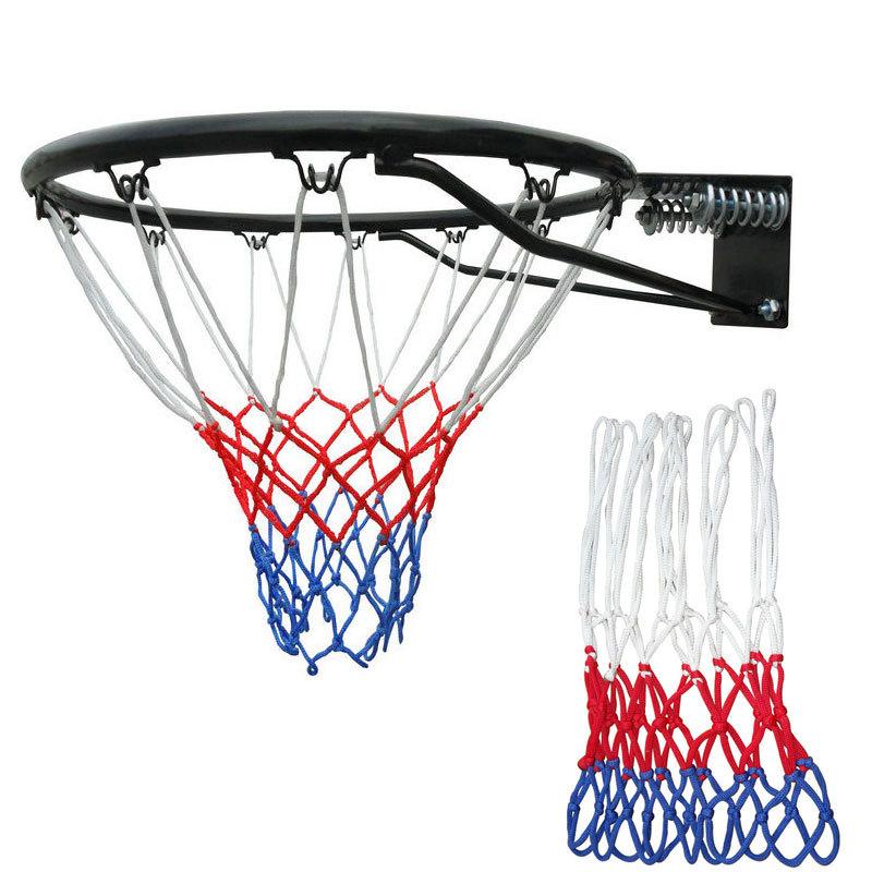 Popular Outdoor Basketball Net-Buy Cheap Outdoor Basketball Net,NBAJERSEYS_WWHMQAF836,Hot New Standard Durable Nylon Basketball Goal Hoop Net Netting Red/White/Blue baloncesto Outdoor Sports Cheap Z1