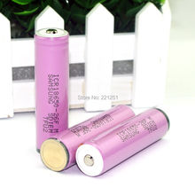 5PCS LOT New original ICR18650 26F 3 7v 2600mah rechargeable battery with protection board Electronic cigarettes