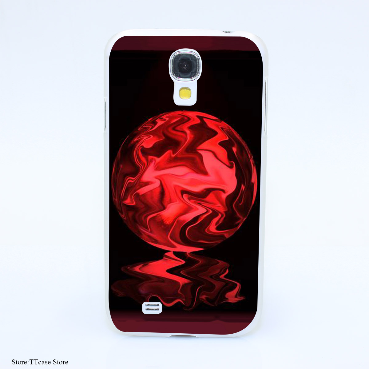 2011CA Leaking Crystal Ball Hard Transparent Case Cover for Galaxy S2 S3 S4 S5 & Mini S6 S7 & edge Plus(China (Mainland))